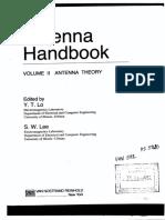 Antenna Handbook Vol.2 Theory
