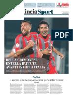 La Provincia Di Cremona 07-08-2017 - Sport