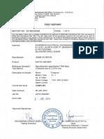 Sirim 11 & 22kv Power Frequency Type Test._evergrow Electrical Engineering Sb