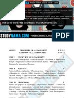 Principles of Management Notes & eBook