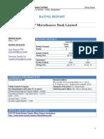 NRSP Credit Rating