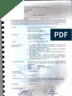 Sirim Link Box Corrossion Rp. 2014ce 0380 11, 22 & 33kv Link Box