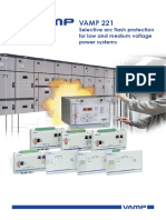VAMP arc flash detection.pdf