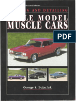 Scale Model Muscle Cars