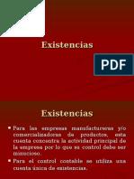 Existencias (Inventarios)