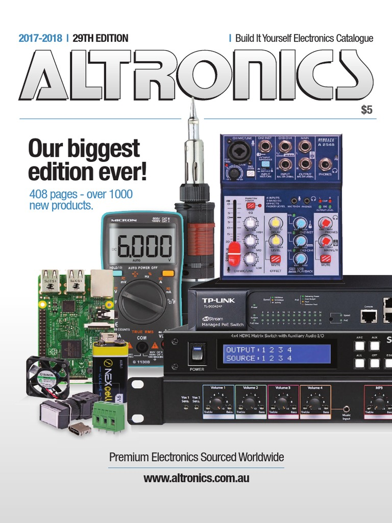 Altronics 2017 18 Electronics Catalogue Electrical Engineering 3wrgb Led Driver Ver11 With Cmos Youtube Electromagnetism