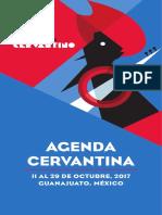 Agenda del Cervantino 2017
