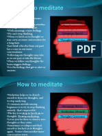 How to Meditate - the practiacl guide to meditation