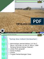 309083072-1-Tipologi-Desa.ppt