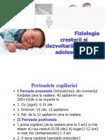 Fiyiologia Cresterii Si Dezvoltarii Copil