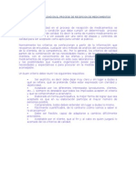 Criterios de Calidad en El Proceso de Recepcion 2010