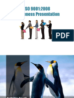 ISO 9001 2008 Awareness Presentation