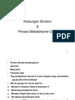 Hubungan Struktur Proses Metabolisme Obat