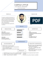 Engsarfraz Anwar Telecommunication Sample CV