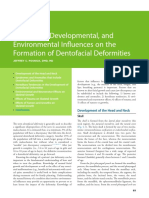 4 Hereditary Developmental and Environmental Influences on the Formation of Dentofacial Deformities 2014 Orthognathic Surgery