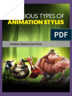 19 types of animation techniques and styles