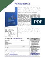 Leaflet - Buku pompa sentrifugal