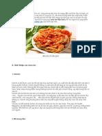 Bật Mí Bí Quyết Học Từ Vựng Qua Món Ăn Hàn Quốc