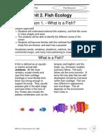 Fish Ecology