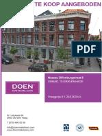 Brochure Nassau Dillenburgstraat 8