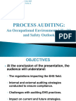 Steps for HSE Auditing Procedure