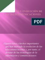 Nacimiento y evolución de las telecomunicaciones