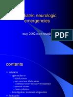 Pediatric Neurologic Emergencies Dr.samed