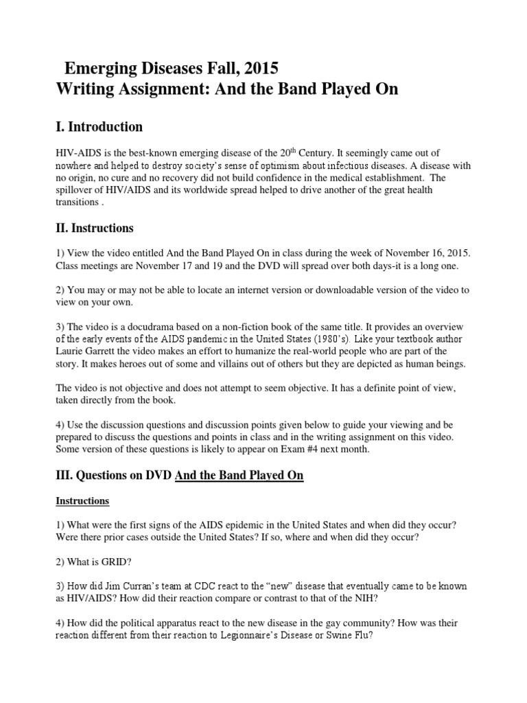 Christian aids hiv dissertation