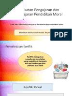 Pendekatan Pengajaran Dan Pembelajaran Pendidikan Moral (Penyelesaian Konflik)