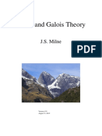 [J.S. Milne] Fields and Galois Theory (2015)