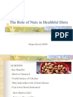 The Role of Nuts in Healthful Diets