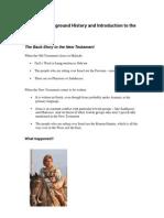 Handout 2 - Background and Gospels