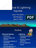 2009 04 09-Thompson-Electrical and Lightning Injuries