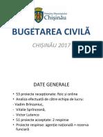 Prezentare Rezultate Bugetare Civila