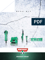 Press Kit Dossier Presse Montabert en 2013