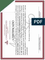 Modelo de Certificado UCAM