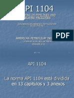 API 1104 Con Edición 2013