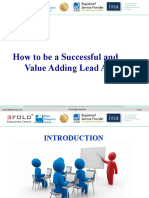 How to Be a Successful Auditor - October 27, 2016