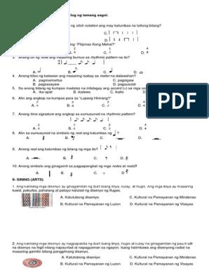 1st Periodic Test-mapeh4