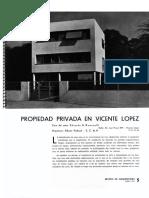 A.prebisch Casa en v.lópez 1937