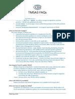 TMSA3 FAQs