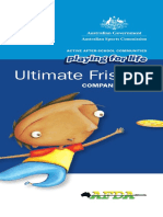 Frisbee Companion Book