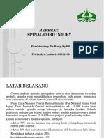 Referat Spinal Cord Injury