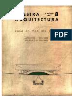 NUESTRA ARQUITECTURA - Número 217 - Agosto 1947_Casa Del Puente