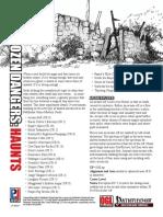 Pathfinder RPG - Two Dozen Dangers - Haunts.pdf
