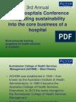 Green Hospitals Presentation E-Bulletin