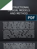 Instructional Design, Models and Method