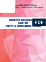 FAQs Handbook employees compensation program