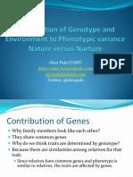 06 Genes Versus Environment