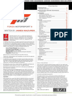 Forza Motorsport 3 Prima Official Guide
